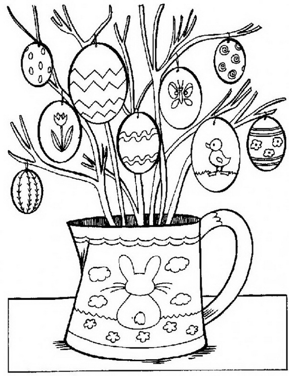 family fun easter coloring pages - photo#8