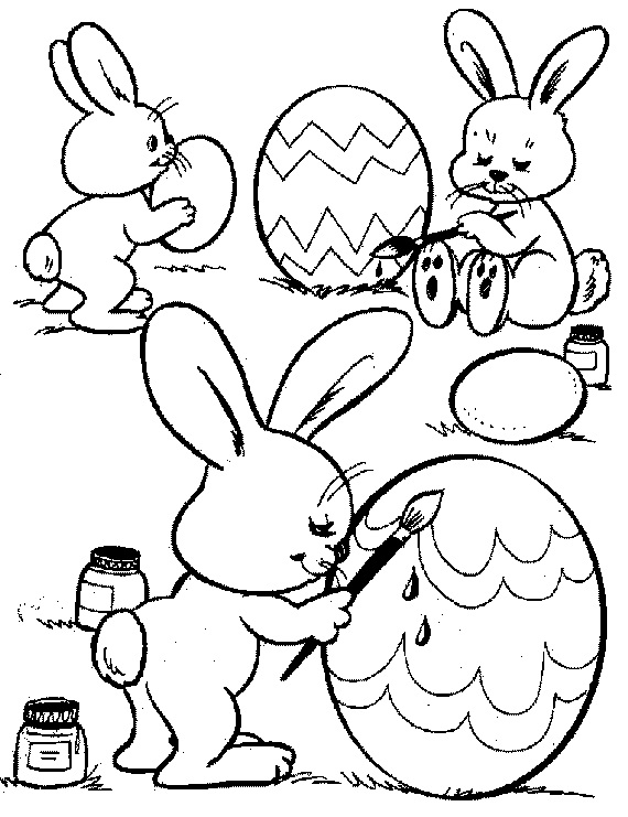 family fun easter coloring pages - photo#36