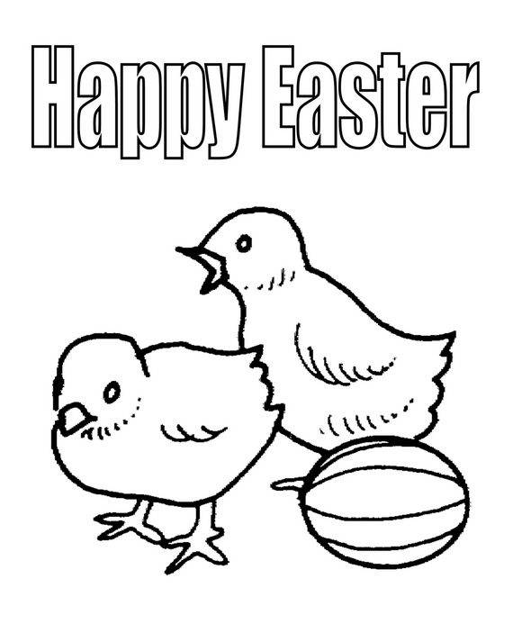 family fun easter coloring pages - photo#17