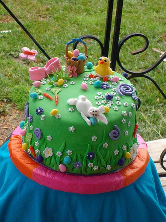 Easter Mini Cakes Decoration Ideas _01