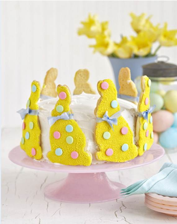 Cake Decorating Ideas Easter : Easter Mini Cakes Decoration Ideas - family holiday.net ...