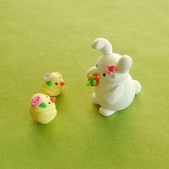 Easter hoiday crafts polymer clay ideas crafts for kids for Easy clay ideas
