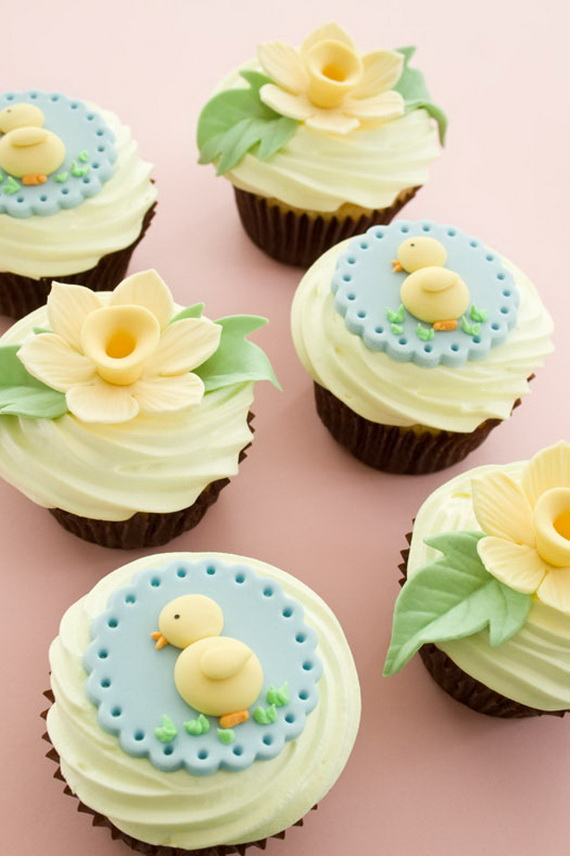 Cute And Easy Easter Cupcakes Family