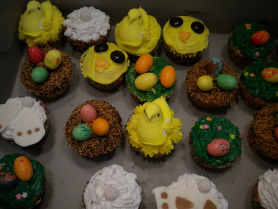 Cute And Easy Easter Cupcakes Family Holiday Net Guide