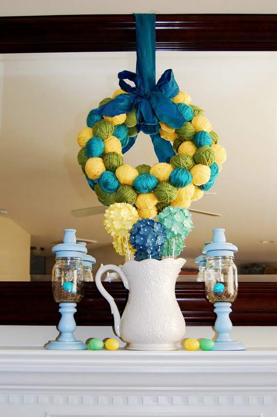 ... easter decoration ideas that are simple to make for a perfect table
