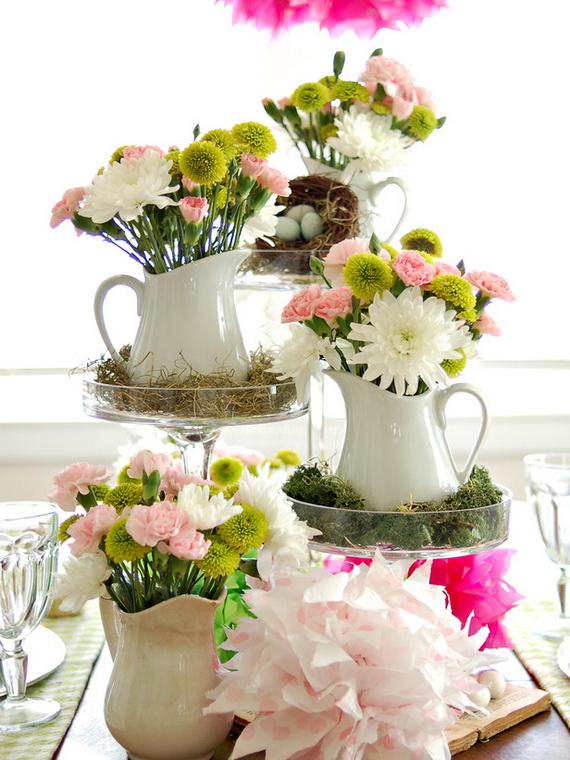 Super elegant easter holiday decorations ideas family for Elegant easter table decorations