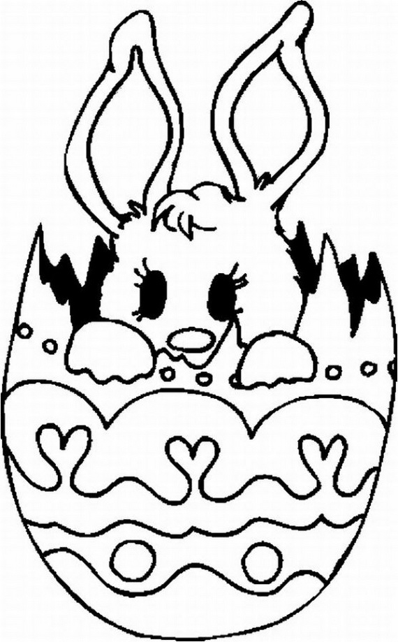 Coloring Pages Of Bunnies  ecuofertascom