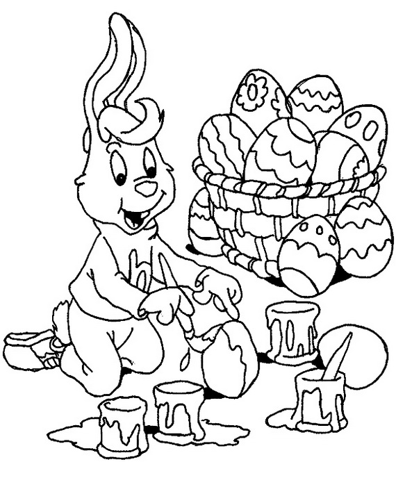 family fun easter coloring pages - photo#21