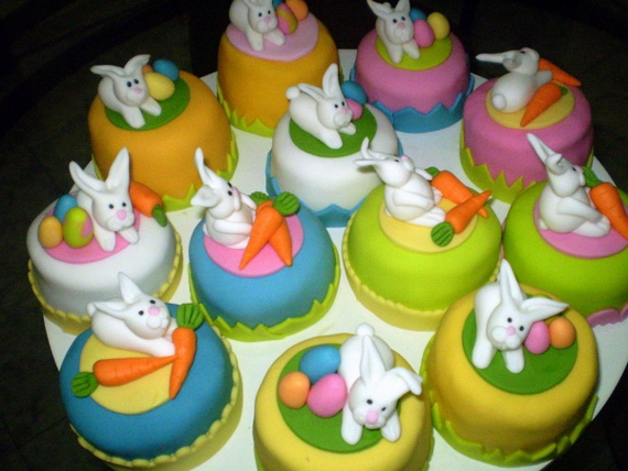 Easter Chick Cake Decorations