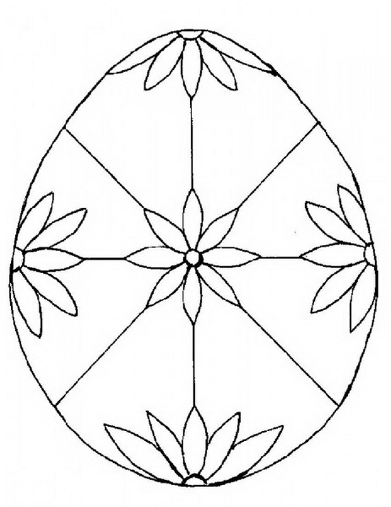 easter mosaic coloring pages - photo#4