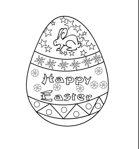Related Posts Easter Bunny Coloring Pages