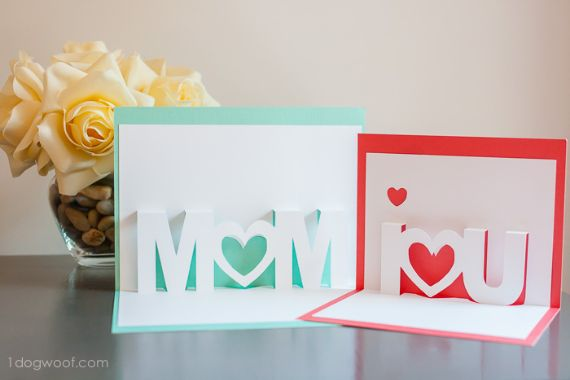 Homemade mothers day greeting card ideas family holidayguide heart card diy cake toppers and many more and because mums are extraordinary you can call for extraordinary cake card toppers on an extraordinary m4hsunfo