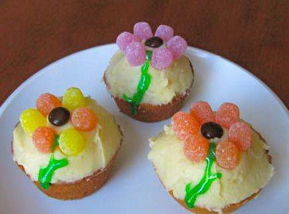 Cupcake decorating ideas on mothers day family holiday Cupcake decorating ideas