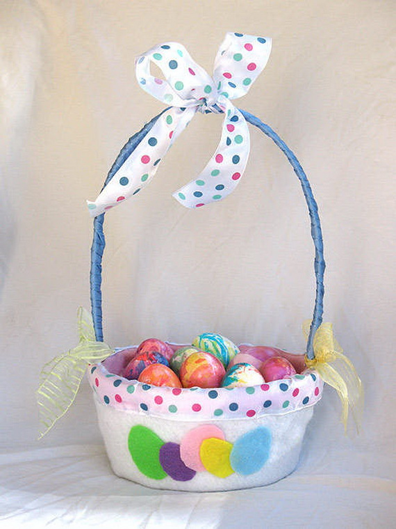 Decorating ideas for easter holiday basket family - Easter basket decorating ideas ...