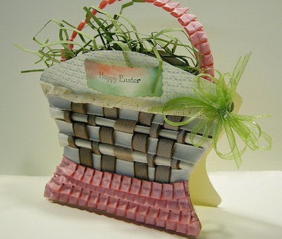 Decorating ideas for easter holiday basket - Easter basket decorating ideas ...