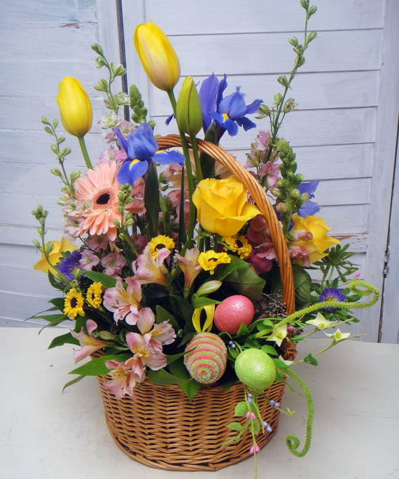 Decorating ideas for easter holiday basket - Decorating ideas for baskets ...