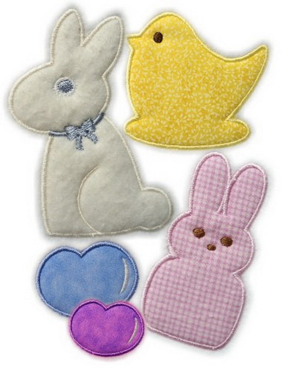 Free Machine Embroidery Designs Easter Baskets