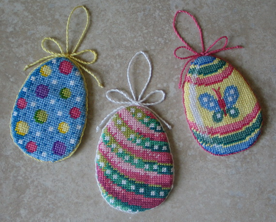 Easter holiday embroidery design ideas family