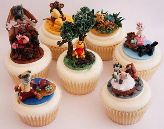Holiday Fun Cute Disney Cake And Cupcake Ideas Family