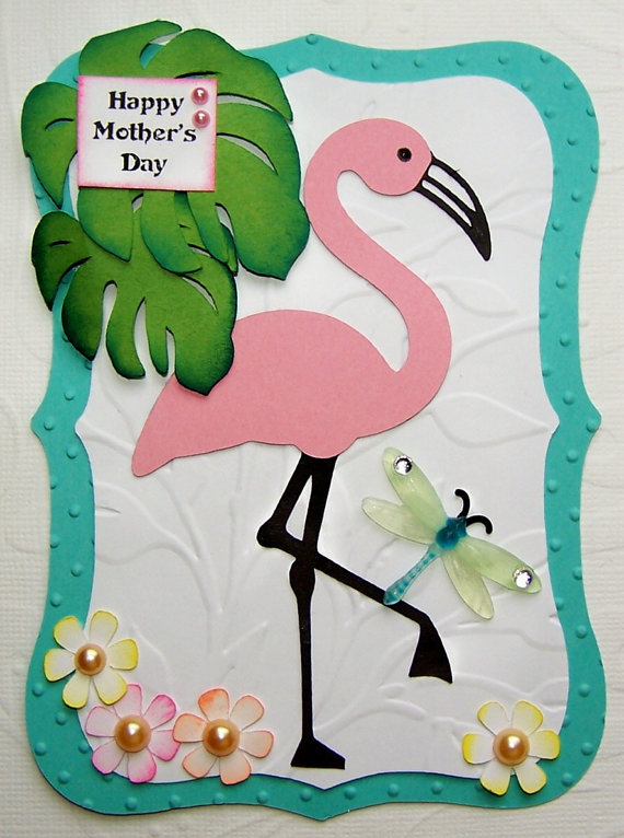 homemade mothers day greeting card ideas - family holiday