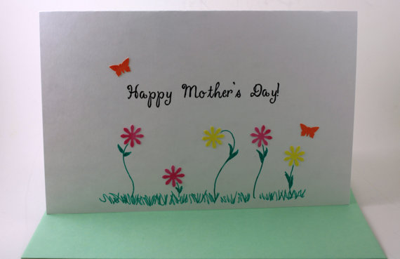 Homemade mothers day greeting card ideas family holiday Good ideas for mothers day card