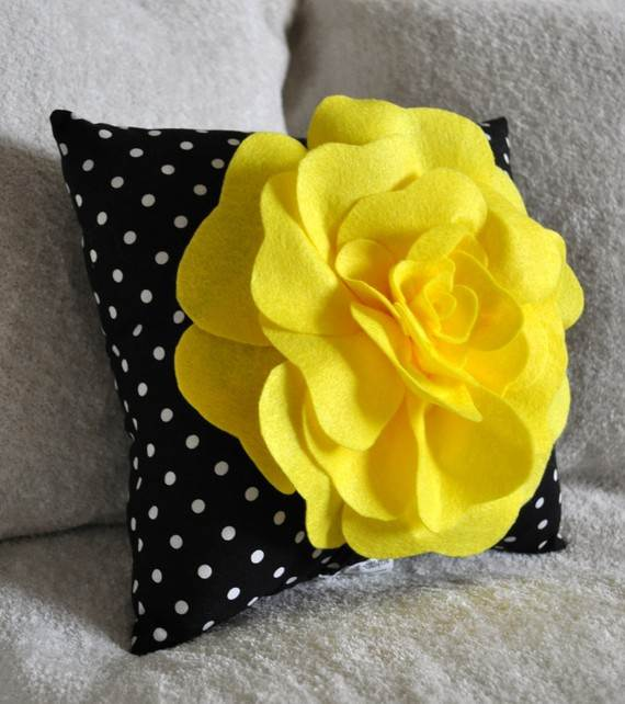 Homemade Mothers Day Ideas Spring felt craft flower - family holiday ...