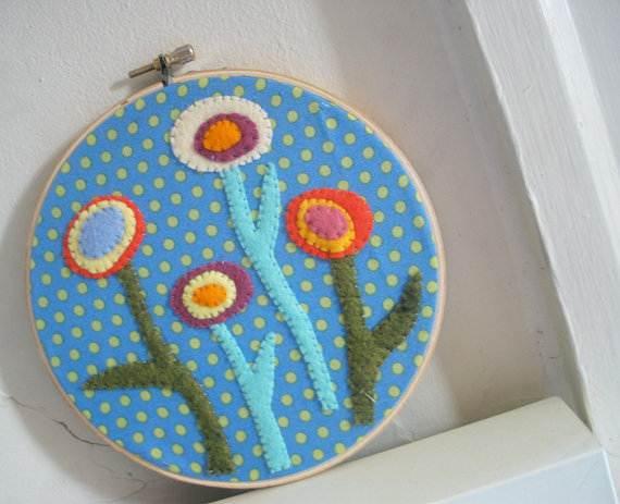 Homemade-Mothers-Day-Ideas-Spring-felt-craft-flower-_56