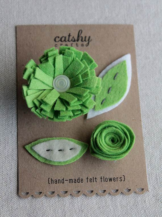 Homemade-Mothers-Day-Ideas-Spring-felt-craft-flower-_58