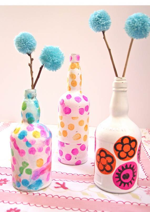 Preschool Crafts For Kids Mother S Day Recycled Bottle Vase Craft