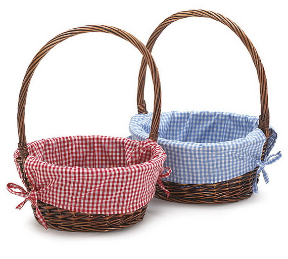 Handmade Gifts Baskets : Personalized handmade toy easter gift basket for kids