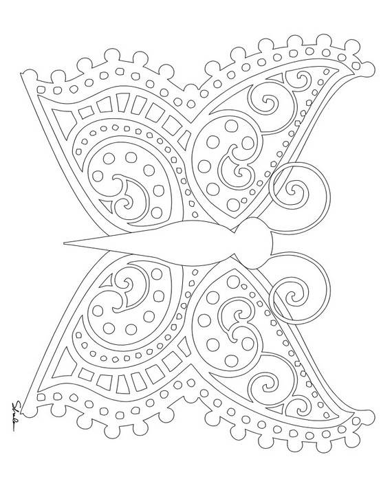 Unique Spring Easter Holiday Adult Coloring Pages Coloring Page For Adults