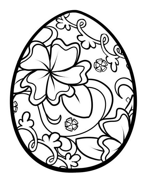Unique Spring & Easter Holiday Adult Coloring Pages Designs - family ...
