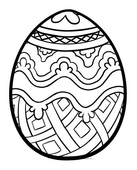 Adult Colouring Pages Easter 25