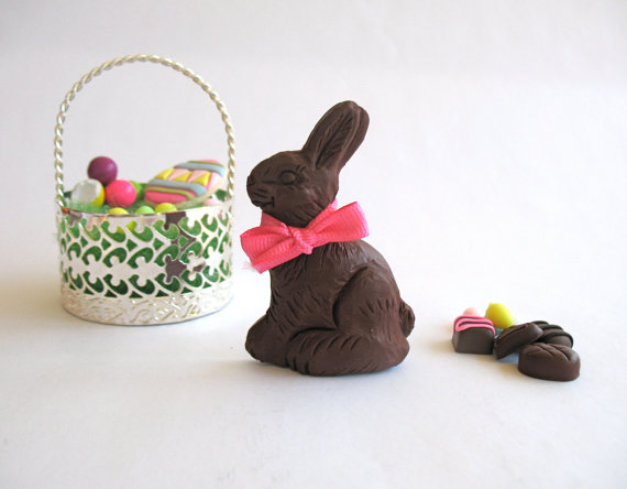 Chocolate bunnies for easter holiday gifts family holiday width570 negle Images