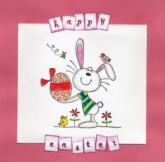 Images of easter greeting card calto handmade easter holiday cards for kids family holiday m4hsunfo