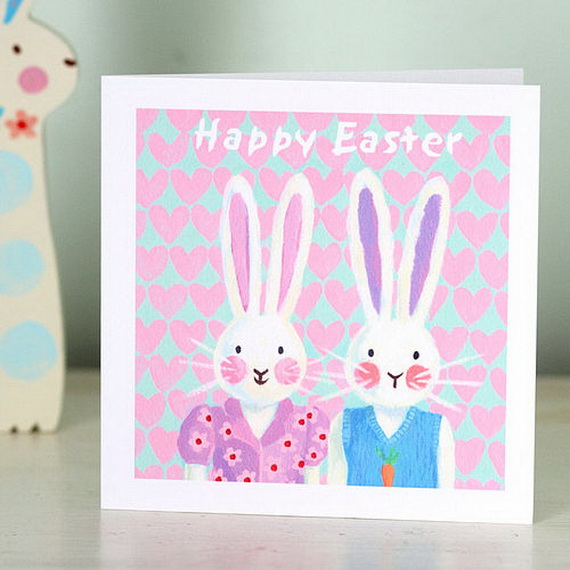 Handmade Easter Holiday Cards for Kids family holidaynetguide – Handmade Easter Cards Ideas
