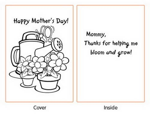 print a mother s day card for
