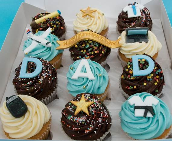 Cupcake Decorating Ideas For Dad On Fathers Day