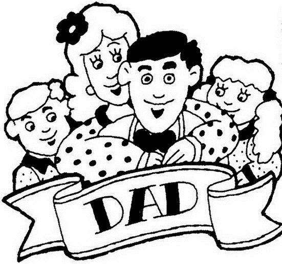 Daddy Coloring Pages For Kids on Father\'s Day - family holiday.net ...