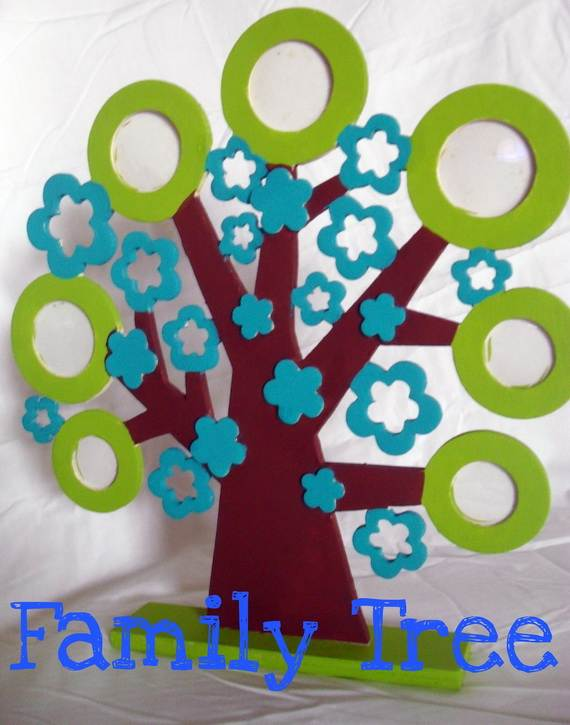 family tree craft template ideas_20
