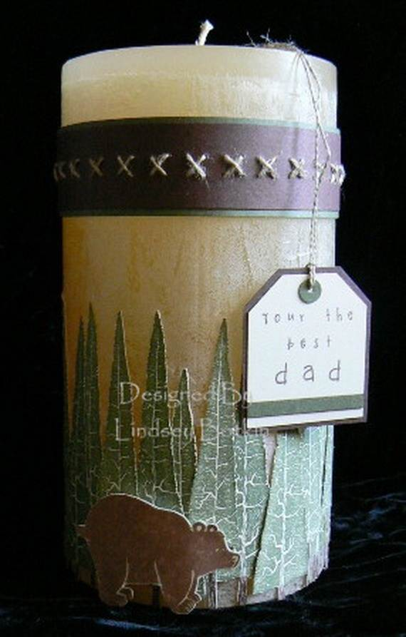 Father S Day Candle Craft Ideas Family Holiday Net Guide To Family