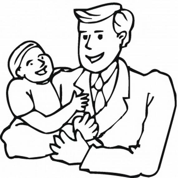 Fathers Day 2012 Coloring Pages