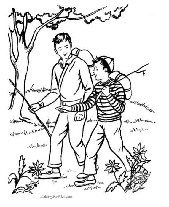 Fathers Day Adult Coloring Pages 021