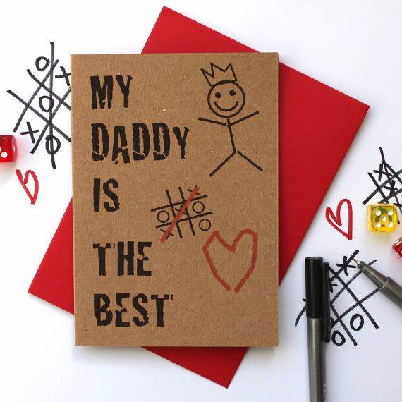Homemade Fathers Day Card Ideas  (19)