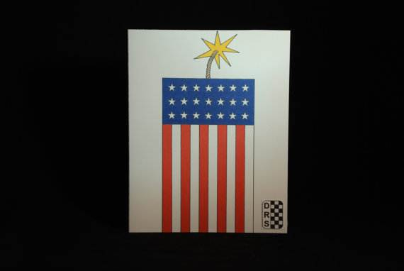 4th July Independence Day Homemade  Greeting Cards (12)