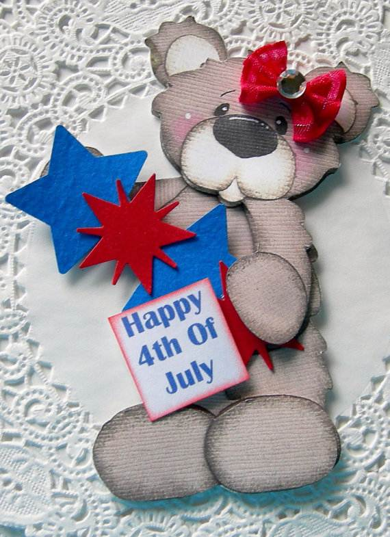 4th July Independence Day Homemade  Greeting Cards (16)