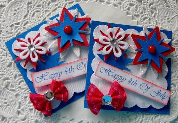 4th July Independence Day Homemade  Greeting Cards (18)