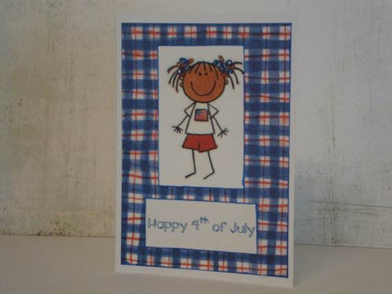 4th July Independence Day Homemade  Greeting Cards (25)