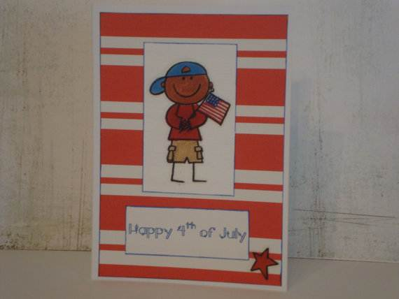 4th July Independence Day Homemade  Greeting Cards (26)