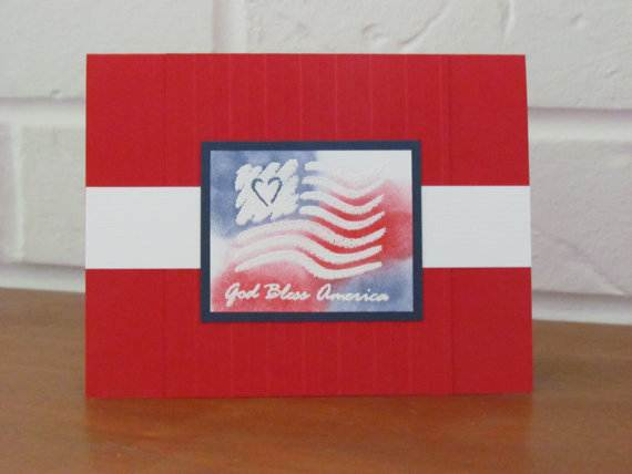 4th July Independence Day Homemade  Greeting Cards (27)